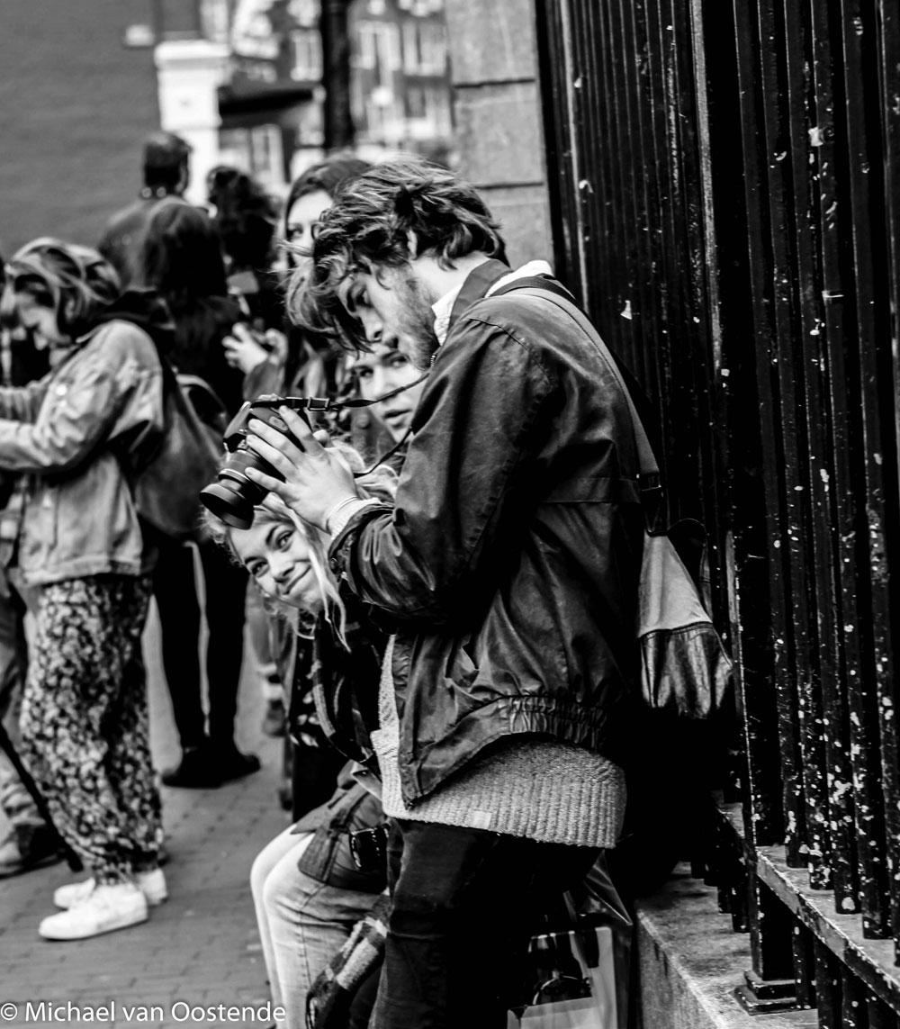 Street Photography Amsterdam  Black and White Photography