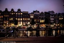 Street Photography Amsterdam canal house