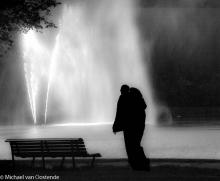 Street Photography Amsterdam  Fountain Vondelpark
