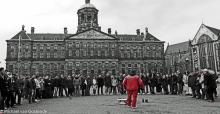 Street Photography Amsterdam Royal performance