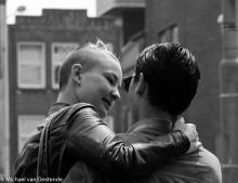 Street Photography Amsterdam In love